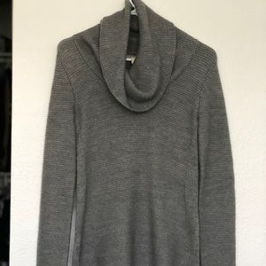 Banana republic gray cowl neck sweater